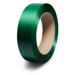 Стреппинг лента ПЭТ 12 х 0,6 (2500 м) Зеленый