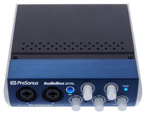 USB-аудио интерфейс PreSonus AudioBox 22VSL