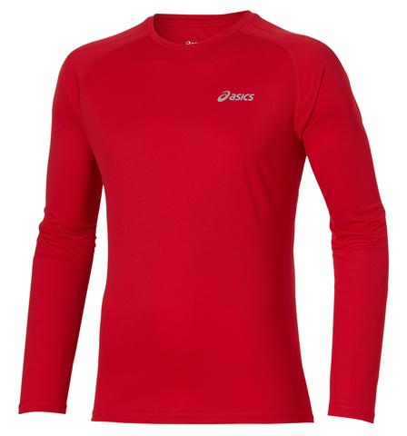 Asics LS Crew Мужская рубашка для бега красная