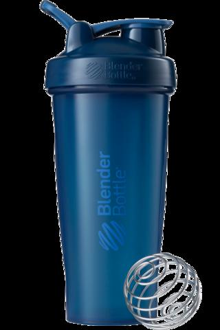 BlenderBottle Classic Шейкер классический с венчиком-пружинкой темно-синий неви 828 мл