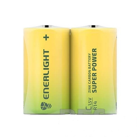 Батарейки Enerlight Super Power R14, C (2/12)