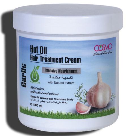 Крем для горячей обработки волос Чеснок
