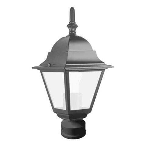 Светильник садово-парковый, 60W 230V E27 черный, 4103 (Feron)