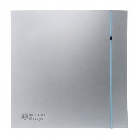 Вентилятор накладной S&P Silent 300 CZ Plus Design 3C Silver