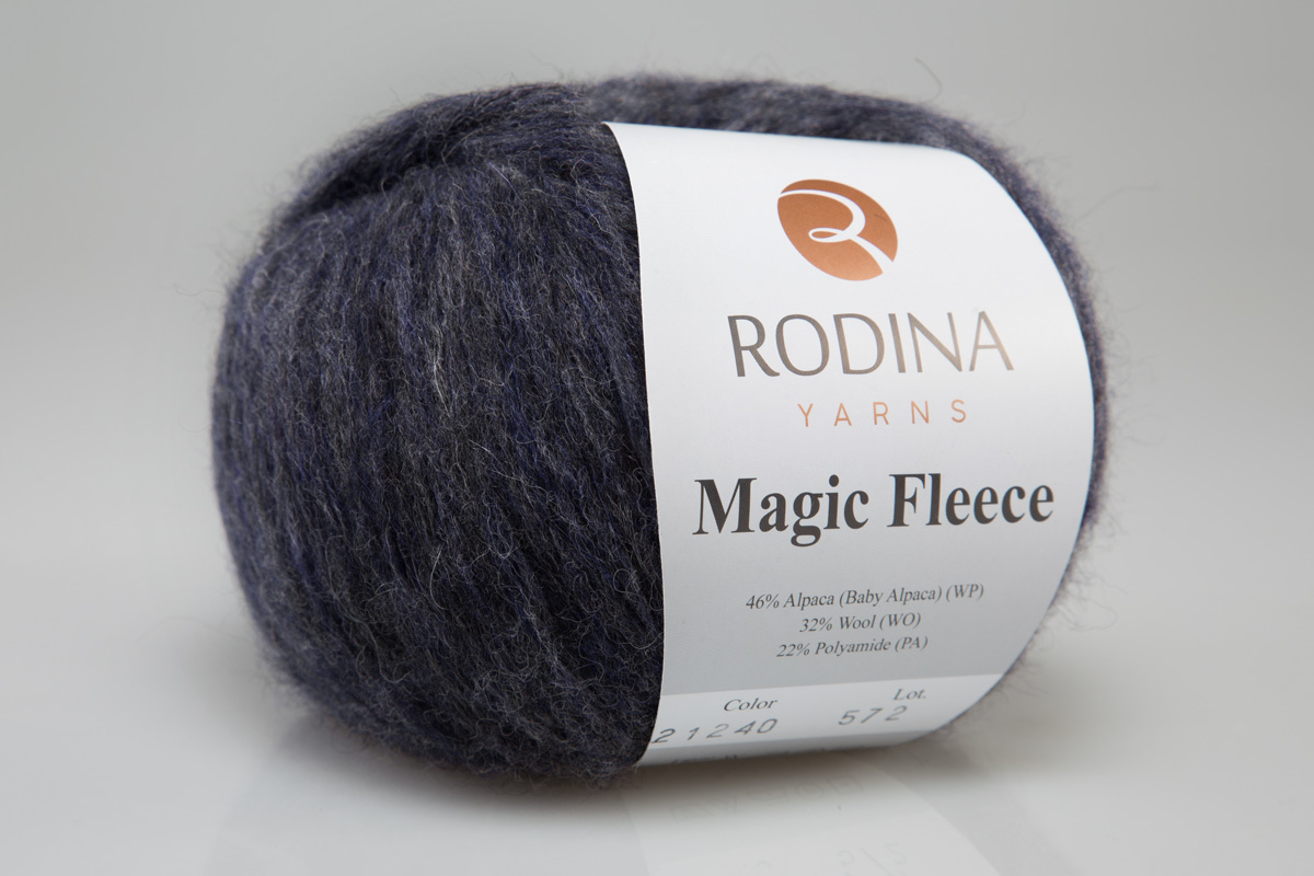 Пряжа MAGIC FLEECE Rodina Yarns
