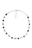 Ожерелье Arlecchino Cubo серебристое (уточняйте наличие)