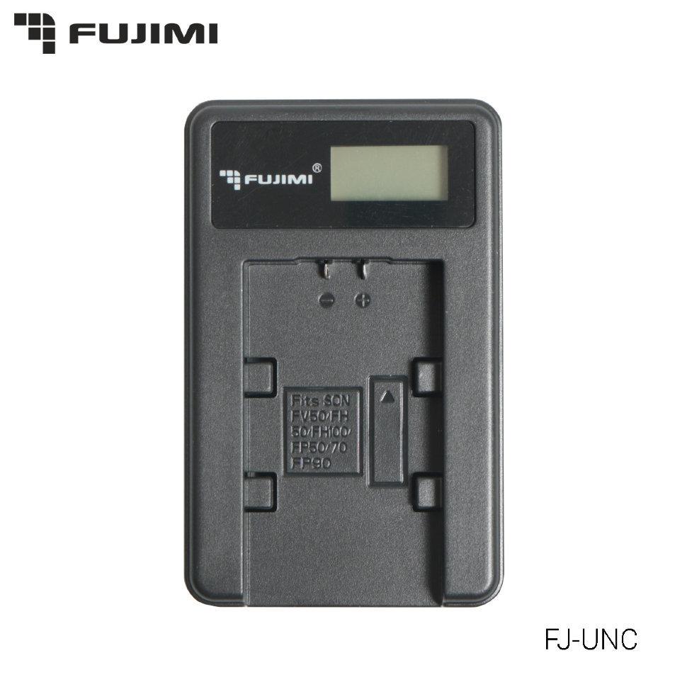 Зарядка USB для Canon LP-E10 (Зарядное устройство Fujimi FS-UNC-LPE10 с USB адаптером)