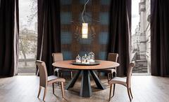 стол обеденный Eliot Wood Round B7802