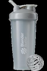 BlenderBottle Classic Шейкер классический с венчиком-пружинкой серый-графит 828 мл