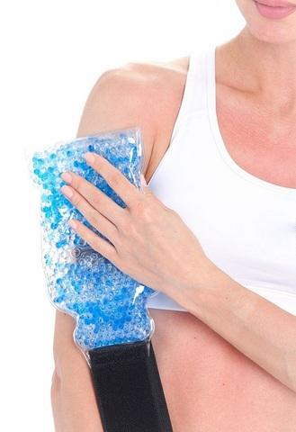 <p>Гелевый компресс для спины помогает снять дискомфорт, напряжение...