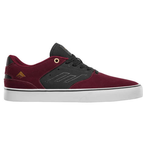 Кеды EMERICA The Reynolds Low Vulc (Red/Grey)
