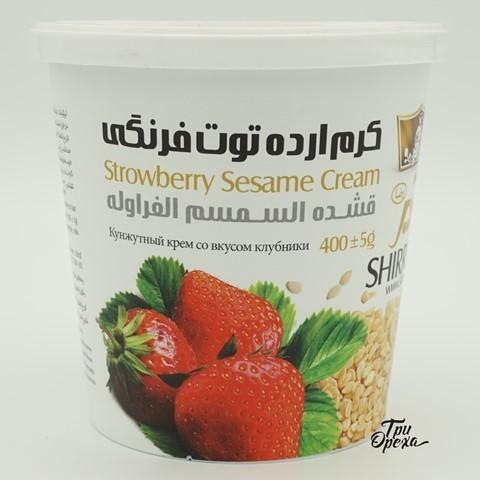 Кунжутная паста Клубника Тахини Shirreza, 400 гр