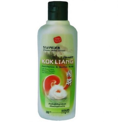 Kokliang Шампунь со Снежным лотосом и Женьшенем Anti-Hairloss & Soothes Scalp Shampoo, 200 мл