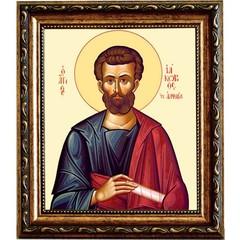 Иаков Святой апостол, брат Господень. Икона на холсте.