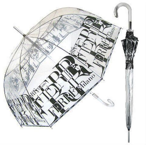 Зонт-трость прозрачный Ferre-5008
