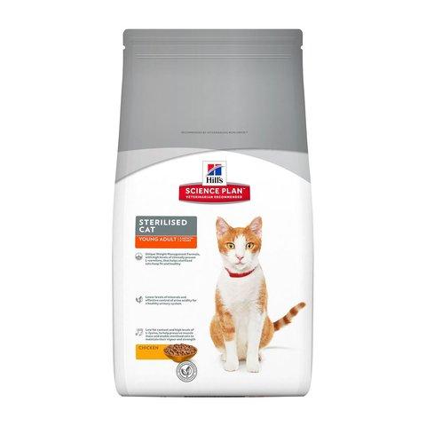 Hill's сухой корм для стерилизованных кошек до 6 лет 1,5кг