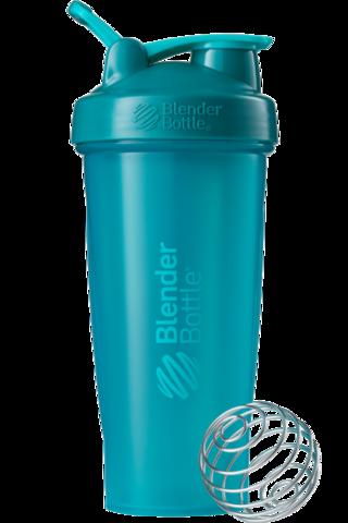 BlenderBottle Classic Шейкер классический с венчиком-пружинкой морской-голубой 828 мл