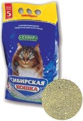 Наполнитель для кошек, Сибирская Кошка, комкующийся Супер