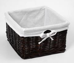Корзина для белья WasserKRAFT Alme WB-150-S плетеная