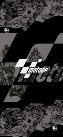 Бандана Moto Gp Buff Black Race