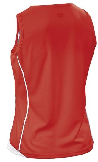Женская волейбольная майка Aics Singlet Paula Lady (T248Z6 2601) красная фото