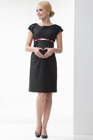 Платье 06197 серый