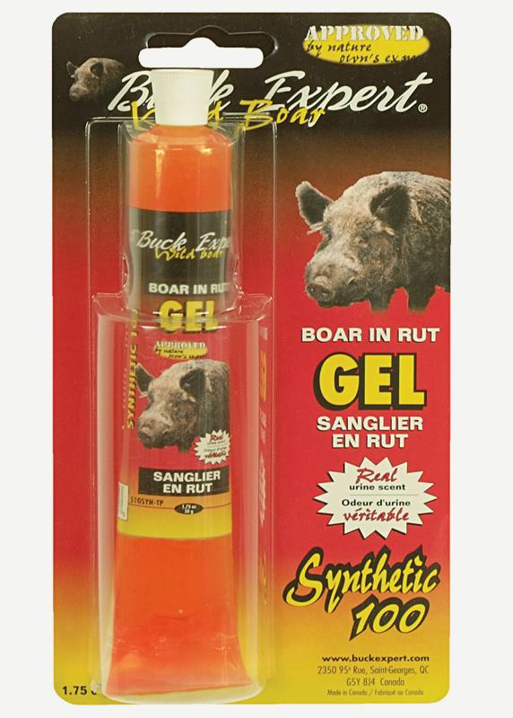 Приманка Buck Expert - кабан (самка) гель