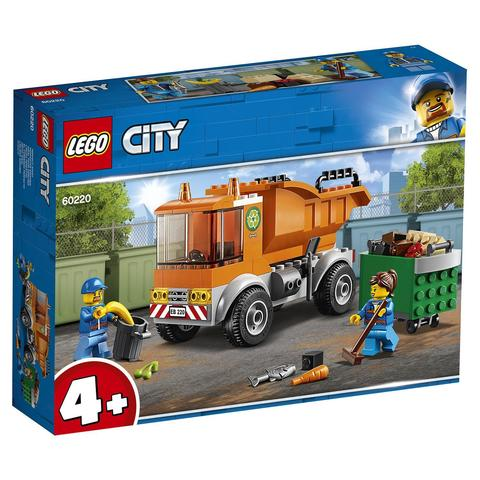 LEGO City: Мусоровоз 60220 — Garbage Truck — Лего Сити Город