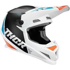 Sector Blade Helmet / Бело-бирюзовый