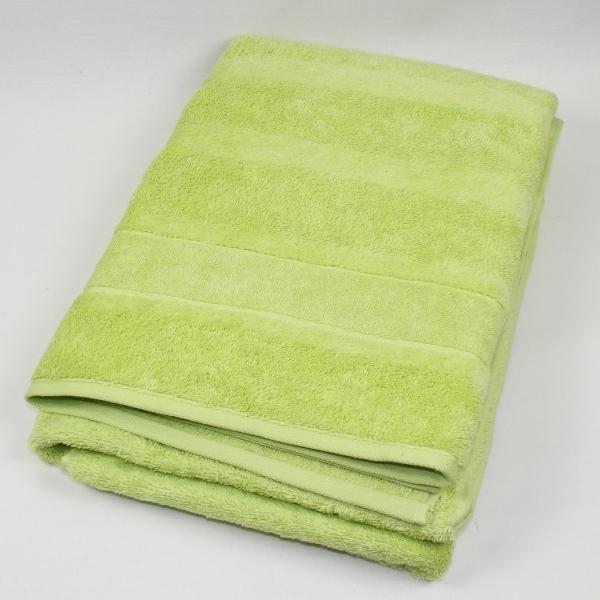 Полотенце 80х160 Cawo Noblesse 1002 зеленое