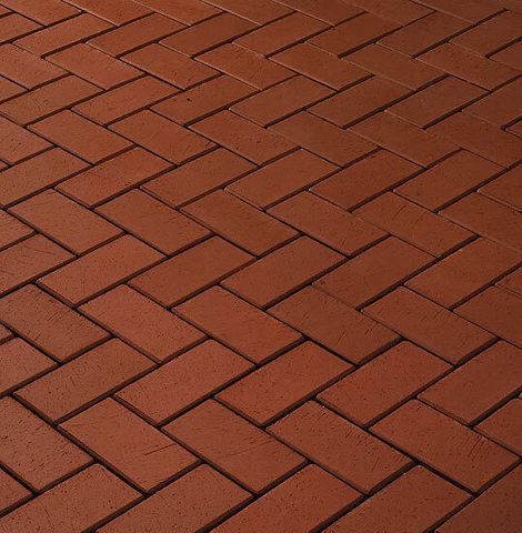 CRH - Goerlitz / Kalahari N, красный, 200x100x45 - Клинкерная тротуарная брусчатка
