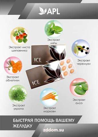 Книга ''Драже ICE – быстрая помощь вашему желудку''