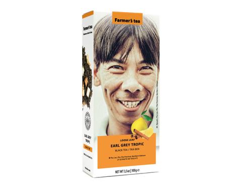 Вьетнамский черный фермерский чай Эрл Грей Тропик, Sense of Asia, 100 гр.