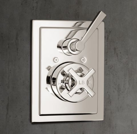 1930 Mackintosh Thermostatic Shower Valve & Trim Set with Flow Control