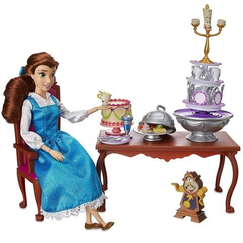 Дисней Красавица и Чудовище игровой набор Чаепитие с Белль