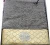 Набор полотенец 3 шт Roberto Cavalli Gold серый