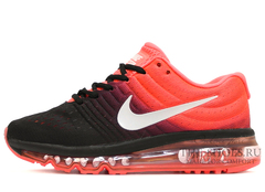 Кроссовки Женские Nike Air Max 2017 Black Red