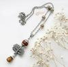 """Коннектор """"Дерево"""" (1-1) 30х25 мм (цвет - античное серебро) (Кулон """"Дерево"""". Пример)"""