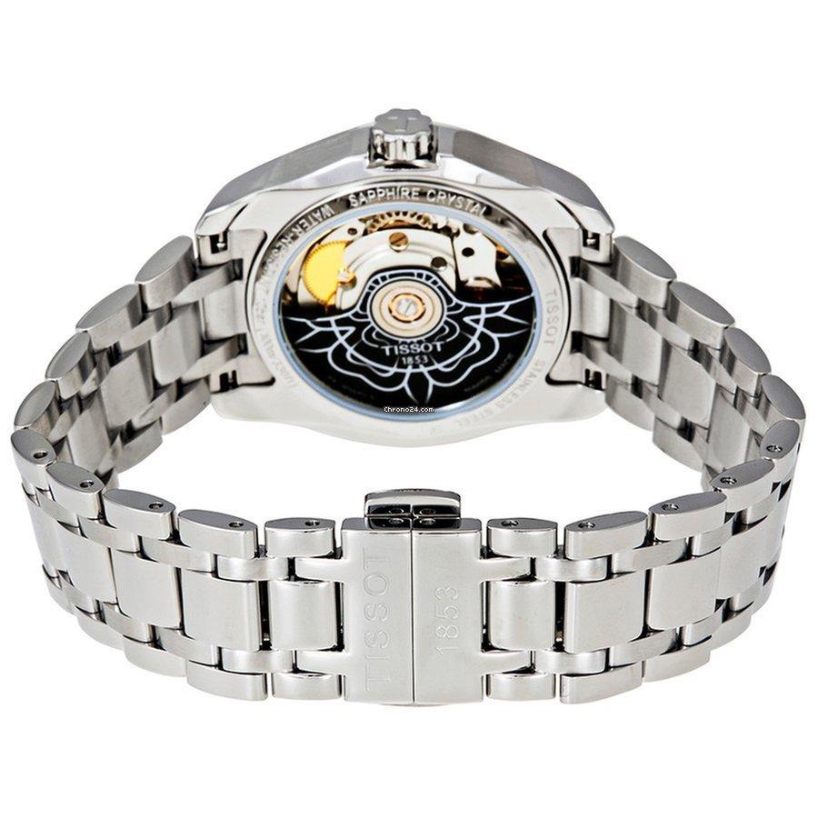 Женские часы Tissot Couturier T035.207.11.031.00 Powermatic 80 Lady ... b9b37c9a576