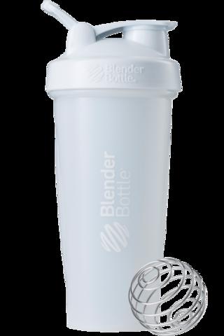 BlenderBottle Classic Шейкер классический с венчиком-пружинкой белый 828 мл