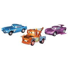Набор машинок Секретные агенты: Мэтр, Салли и Фин МакМисл - Тачки 2 (Cars 2), Disney