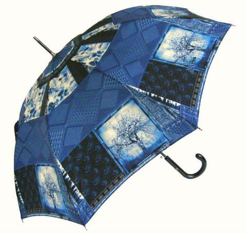 Купить онлайн Зонт-трость JP Gaultier 1182-2 Patch Indien в магазине Зонтофф.