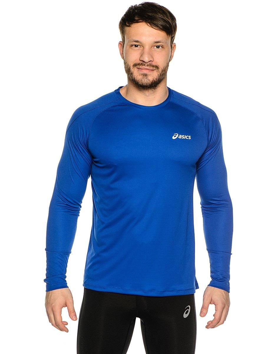 Мужская беговая рубашка Asics LS Crew (114510 8107) фото