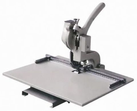 Joiner S 4 - Аппарат для установки люверсов Joiner JYS-4 со столом, глубина пробивки до 75 мм