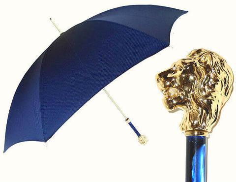 Зонт-трость Pasotti 479-OXF-8W37 Gold Leo