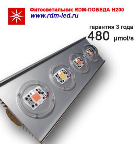Комплект для фитосветильника Н200 с колпаком