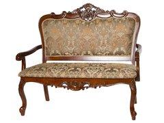 Двухместное кресло 20901 (MK-1301-DB) Темная вишня