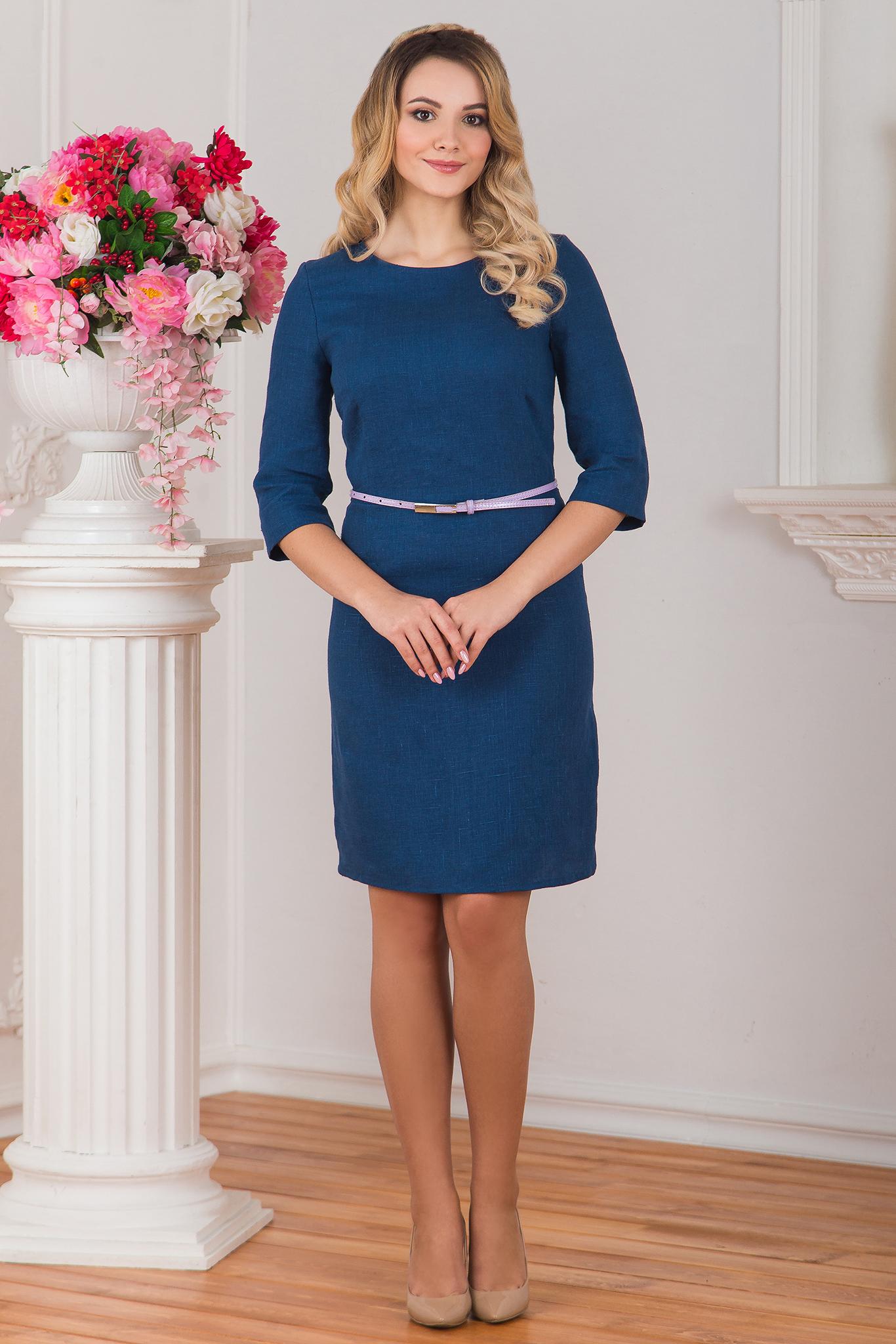 Платье льняное Катунь