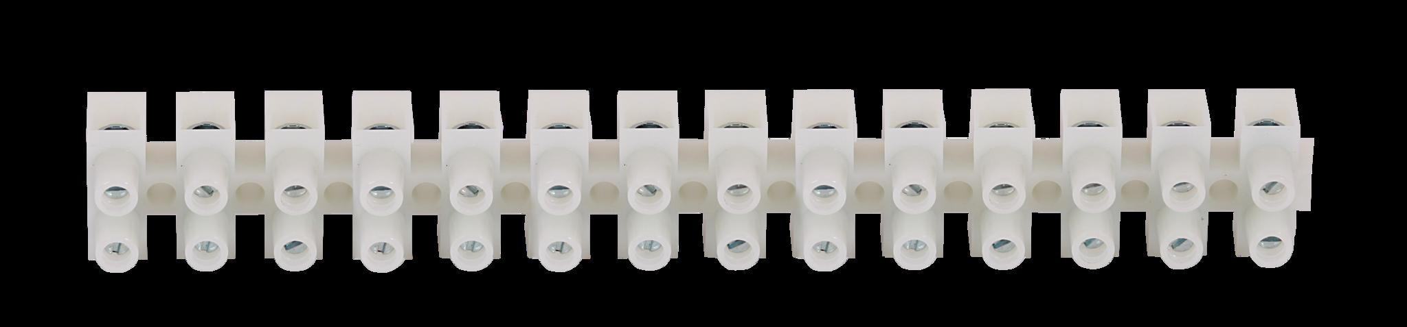 Для парогенераторов: Клеммная колодка SAWO STP-TB12 (12-полюсная, 95 мм, белого цвета)