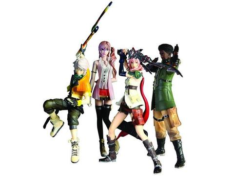 Final Fantasy XIII Trading Arts - Set of 4